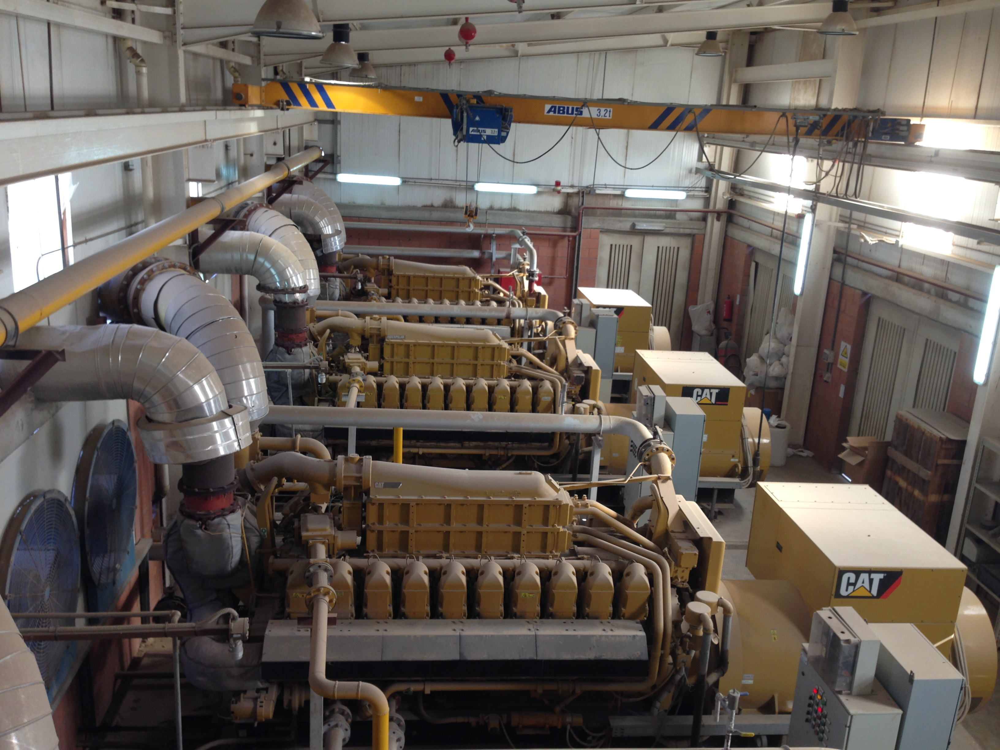 Lohrmann Gas Turbine Generators